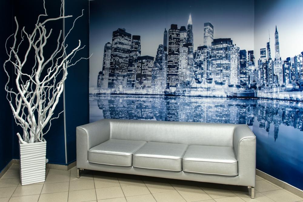 мягкий офисный диван