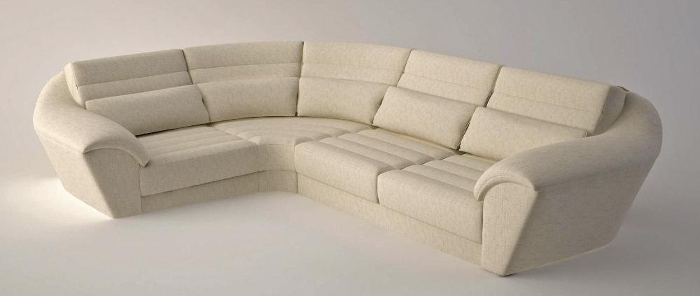 Мягкий угловой диван Acqua для гостинной
