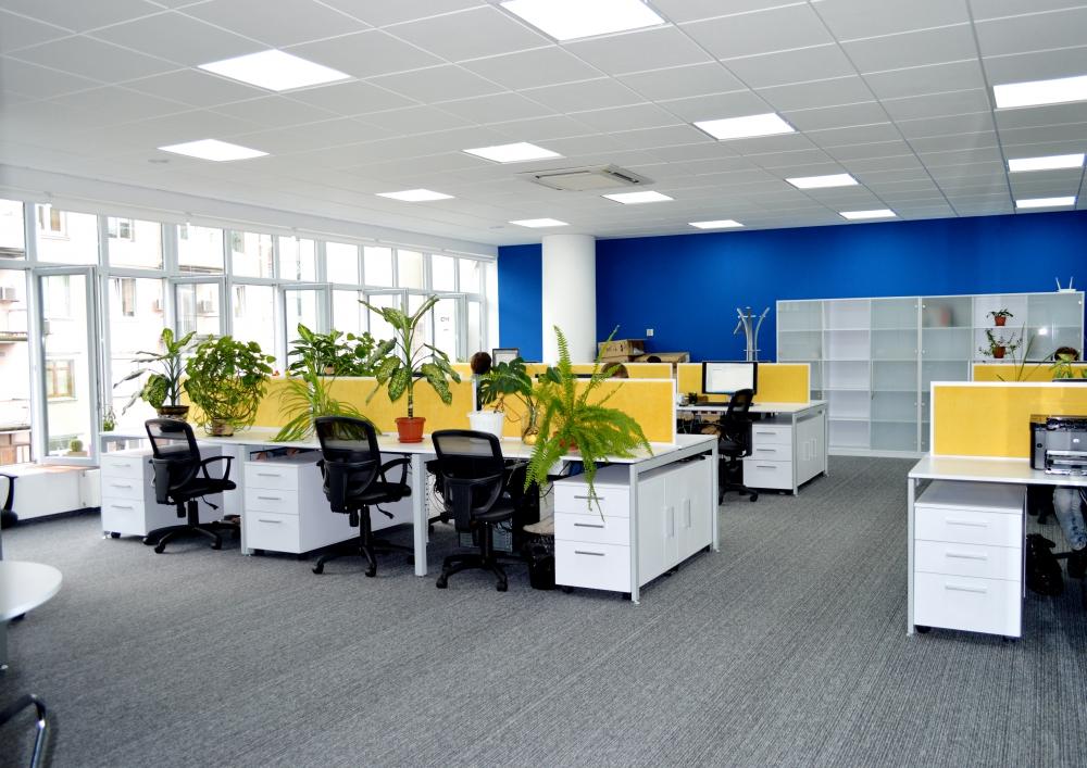 Open Space с мебелью для персонала