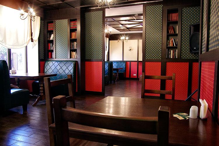 Ресторан Roman'S - обустройство ресторанного зала