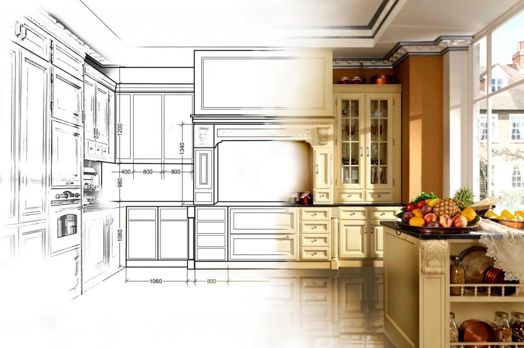 ескиз кухни